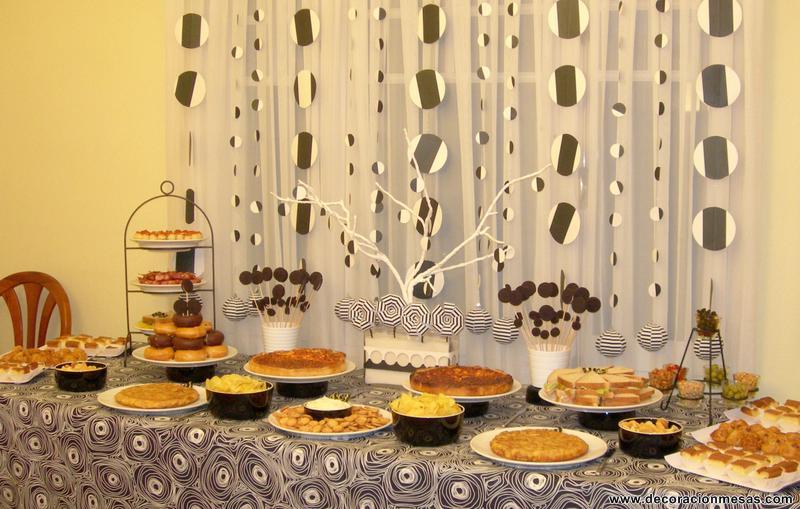Decoracion de mesas enero 2012 - Decoracion buffet ...
