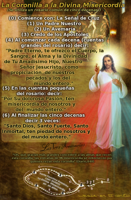 como resar rosario a la divina misericordia