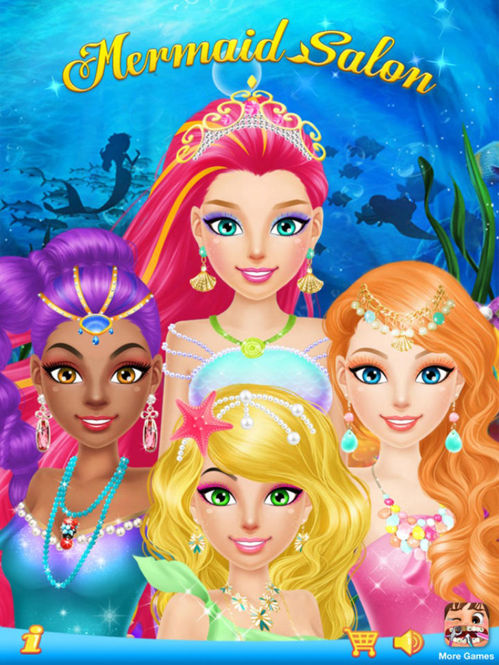 Mermaid Salon App iTunes App By Libii Tech Limited - FreeApps.ws