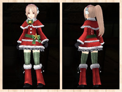 サンタ衣装 重量化