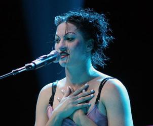 Amanda Palmer image from Bobby Owsinski's Music 3.0 blog