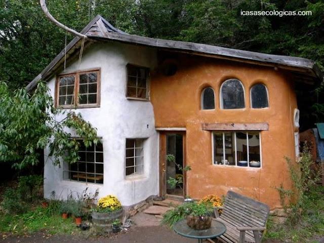 Casa hecha de COB en Europa