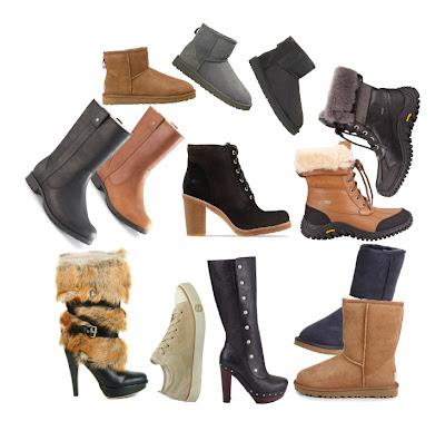 UGGS laarzen en schoenen