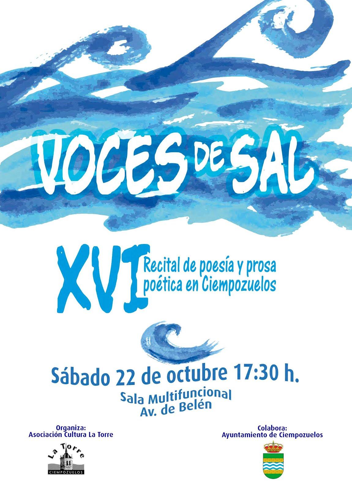XVI RECITAL DE POESIA Y PROSA POETICA