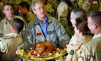 Bush with Turkey