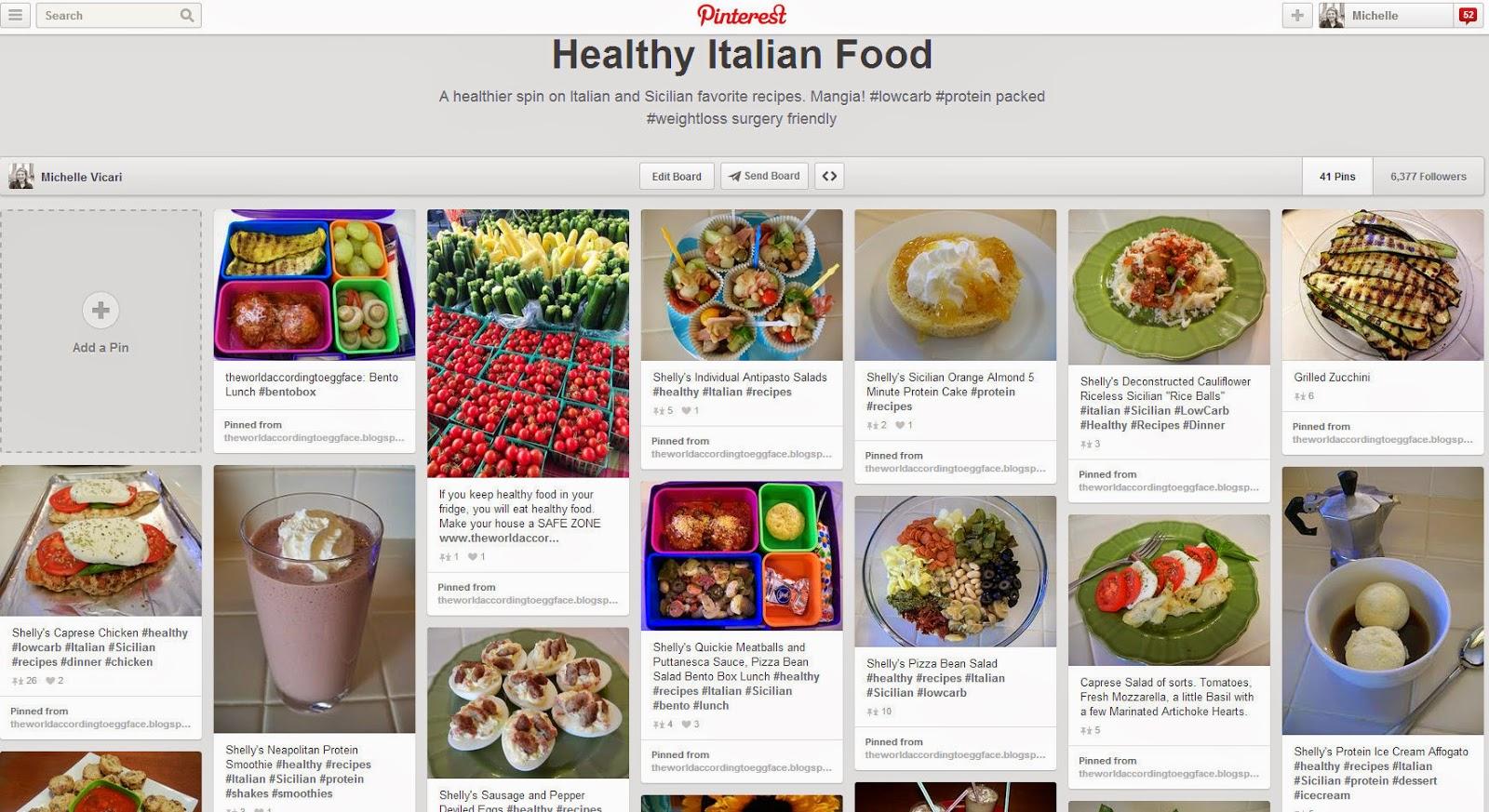 Healthy+Italian+Food+on+Pinterest+Eggface Weight Loss Recipes Eggface Healthy Italian Food Pinterest Page