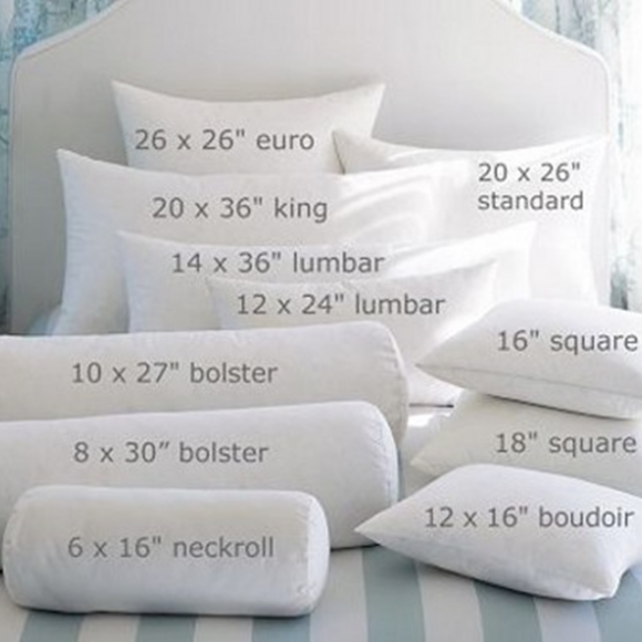 Bedding Sham Sizes