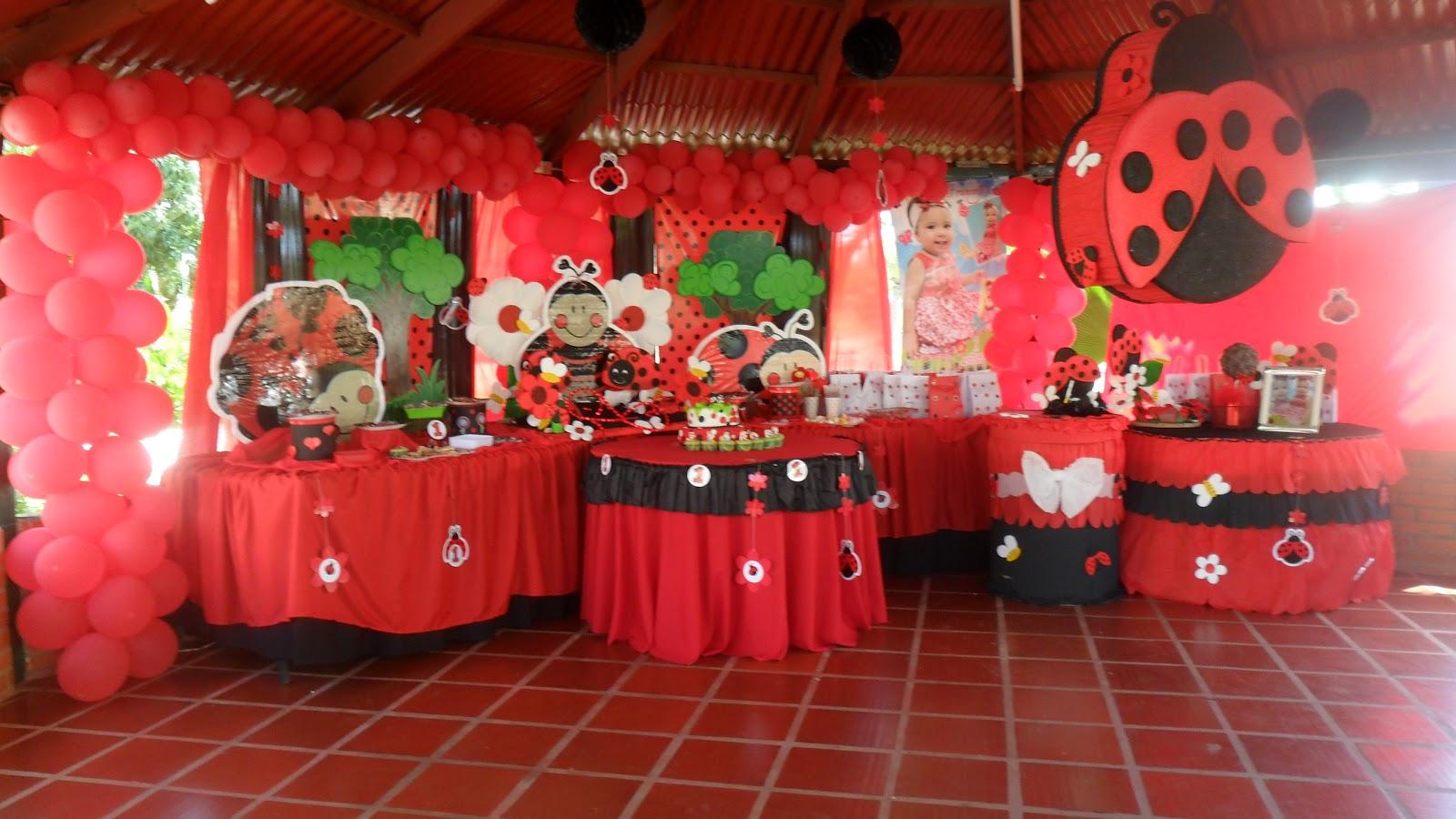 Decoracion de fiestas mariquitas imagui for Decoracion de adornos