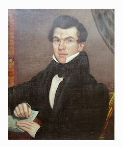 American portrait painting. 19th century.