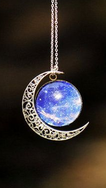 Stunning Moon Necklace