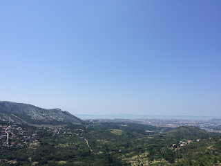 näkymä kroatian etelärannikolla
