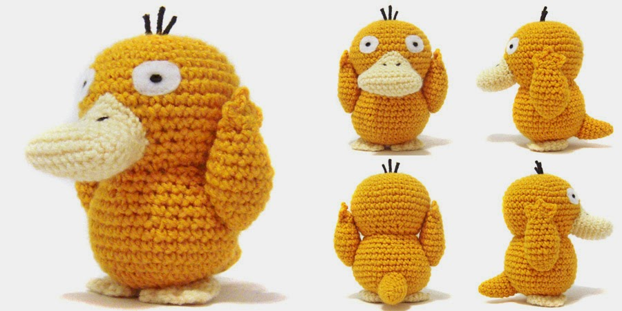 i crochet things: Pattern: Psyduck Amigurumi