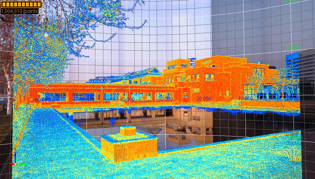Laser escaner topografía