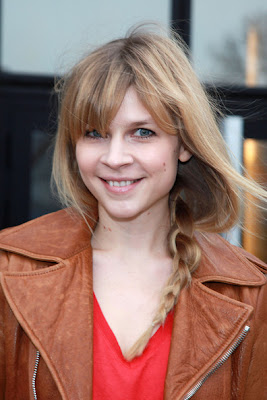 Clemence Poesy 2012 Hairstyle