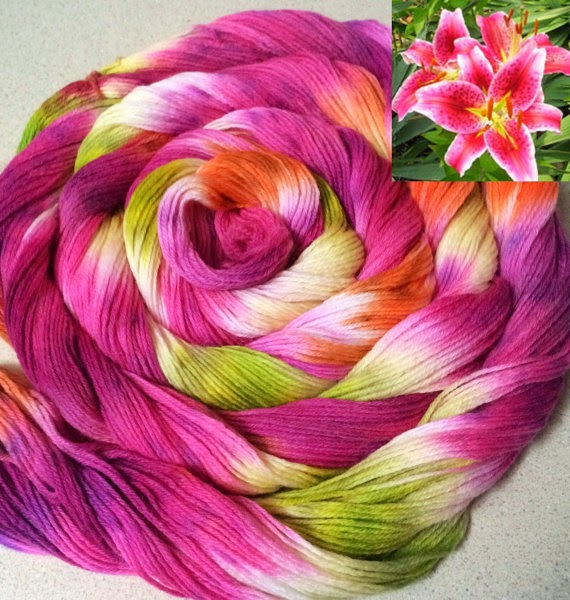 Hand Painted Yarn