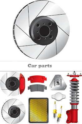 Stock Vectors - Car Parts