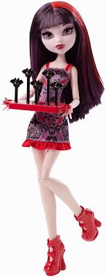 JUGUETES - MONSTER HIGH : Ghoul Fair  Elissabat | Muñeca - Doll Toys | Producto Oficial 2015 | Mattel CHW71 | A partir de 6 años  Comprar Amazon.es | Buy Amazon.com