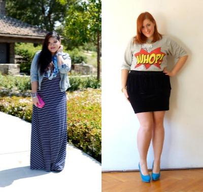 outfit curvy preferiti della settimana