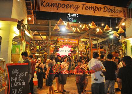 Kuliner Kampung Tempo Dulu La Piazza 2013