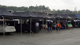 Rain cancelled all on-track activity on Thursday for the NASCAR K&N Pro Series East at Road Atlanta in Braselton, GA