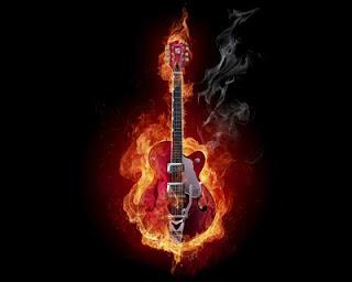 Wallpaper Keren Gitar Api