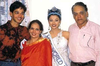 Aishwarya Rai family members