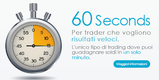 Trading in 60 secondi