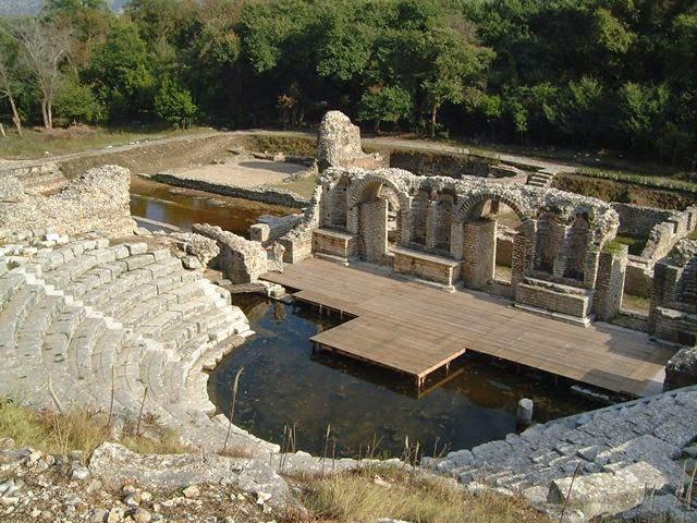 Illyrians Butrint Albania