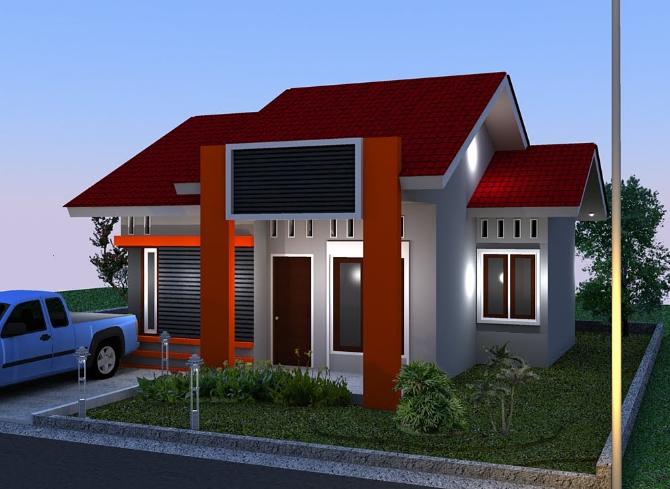 desain rumah minimalis type 45 terbaru 2014 desain rumah