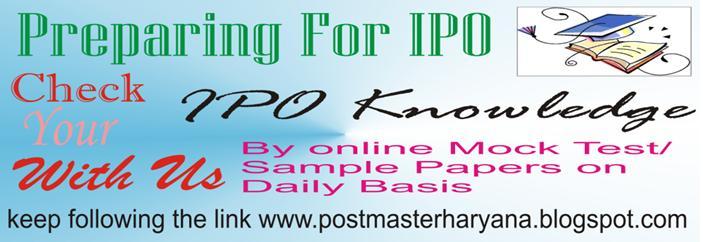 Postmaster Haryana