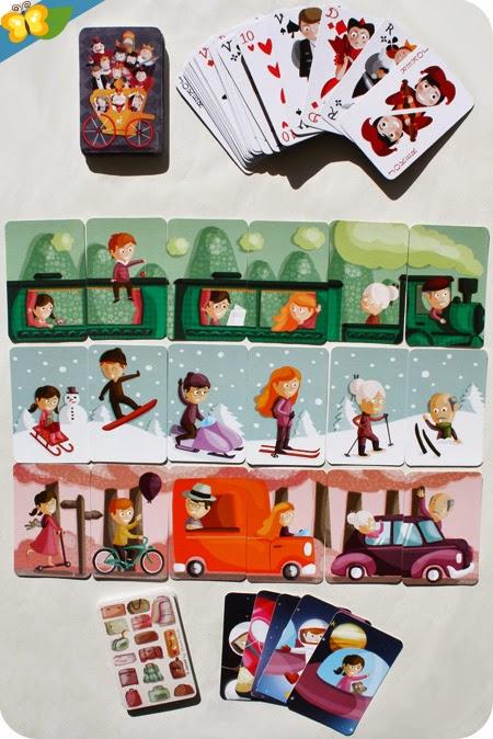 Touroperator de Janod, jeux de 7 familles et cartes, illustré par le studio Tomso