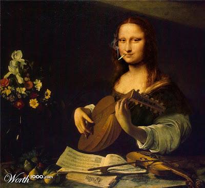 Mona Lisa Smoked
