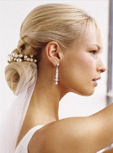 pulled shoulder wedding hairstyles