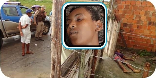 Jovem de 15 anos executado com seis tiros