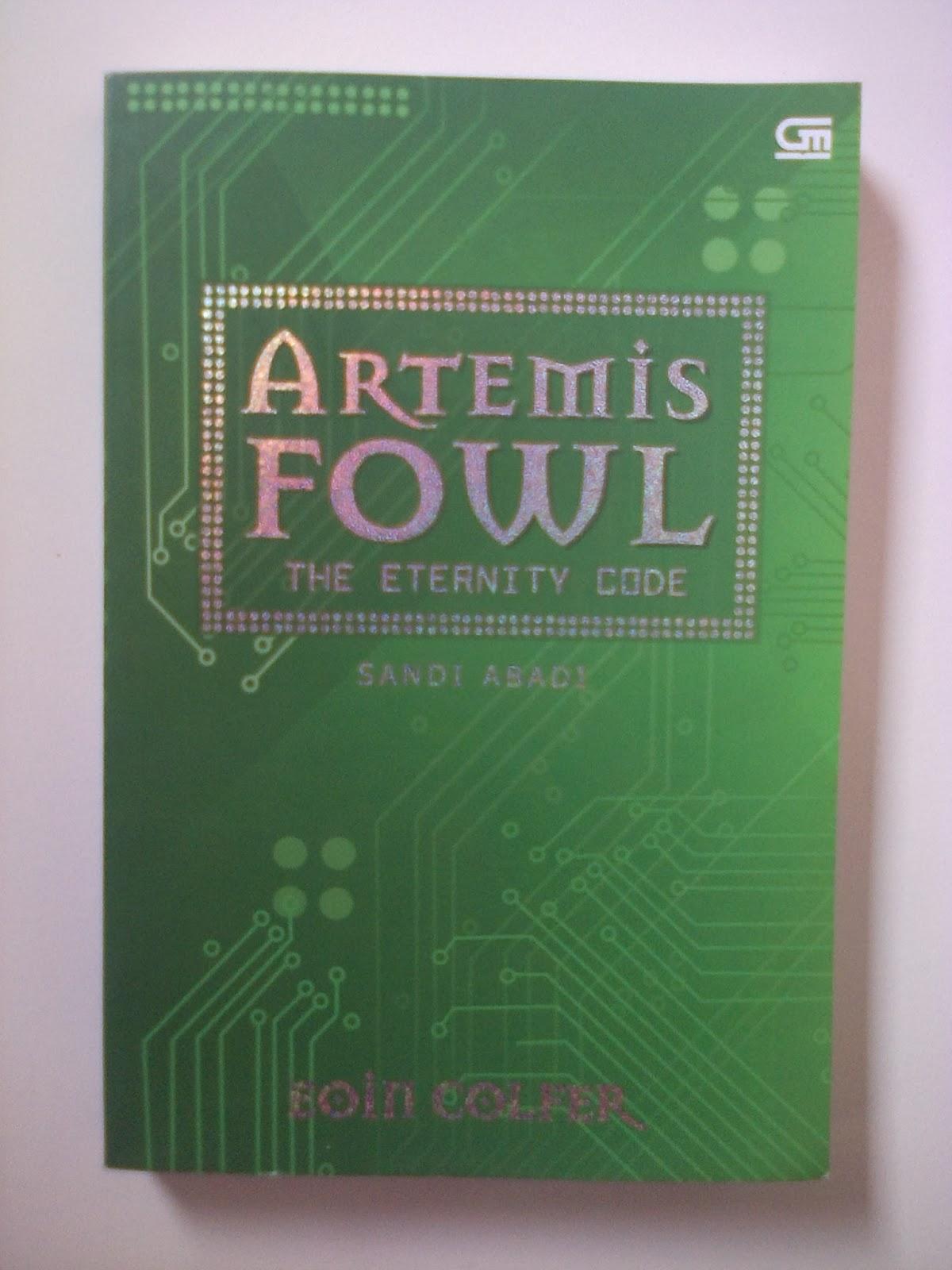 Jual Novel: Artemis Fowl: The Eternity Code (Sandi Abadi)