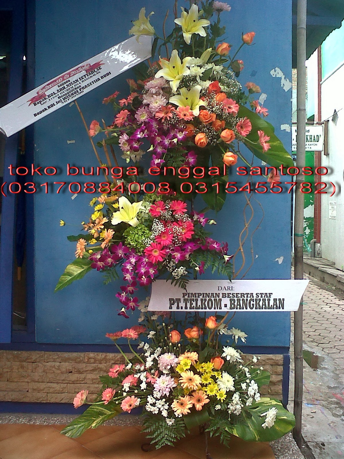 standing flower susun