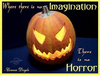 there is no horror Halloween quote and sayings