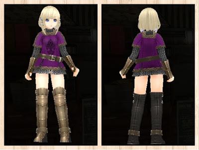 ウォリアメイル・紫色1