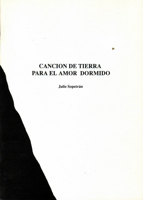 CANCIN DE TIERRA PARA EL AMOR DORMIDO