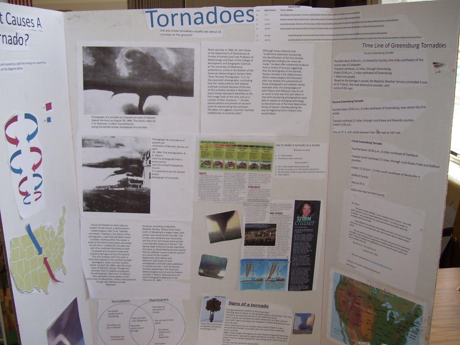 tornado science fair project Title: tornado in a box author: joshua r escobedo subject: cssf 2005 project summary keywords: cssf, california state science fair, project summary.