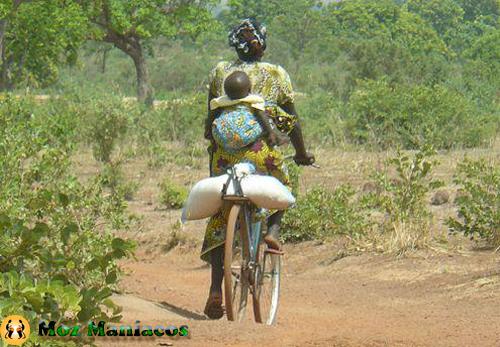 Bicicleta Para as Compras