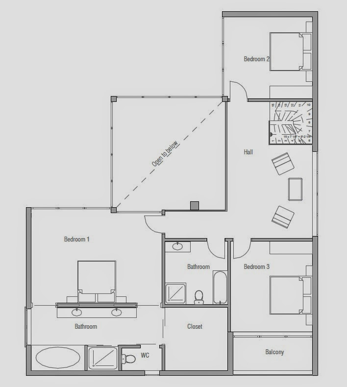 Proyectos de casas modernas proyecto de casa moderna ch168 for Casa moderna 9 mirote y blancana