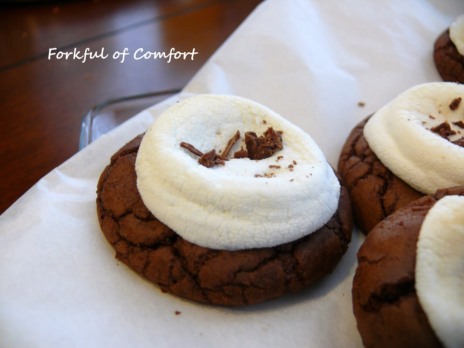 Forkful of Comfort: Hot Chocolate Cookies