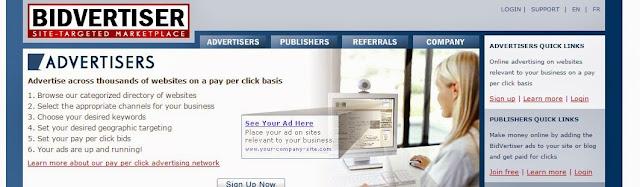 Cara Mudah Menjadi Publisher PPC Bidvertiser