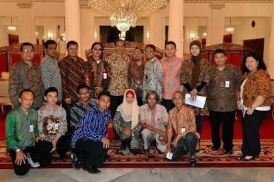 Presiden Jokowi undang 14 Kompasianer ke istana