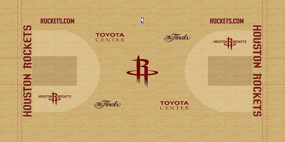 NBA 2K14 Houston Rockets HD Court Mod [NBA on TNT] - NBA2K.ORG