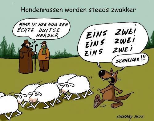 dag tijd Duitse strip plagen