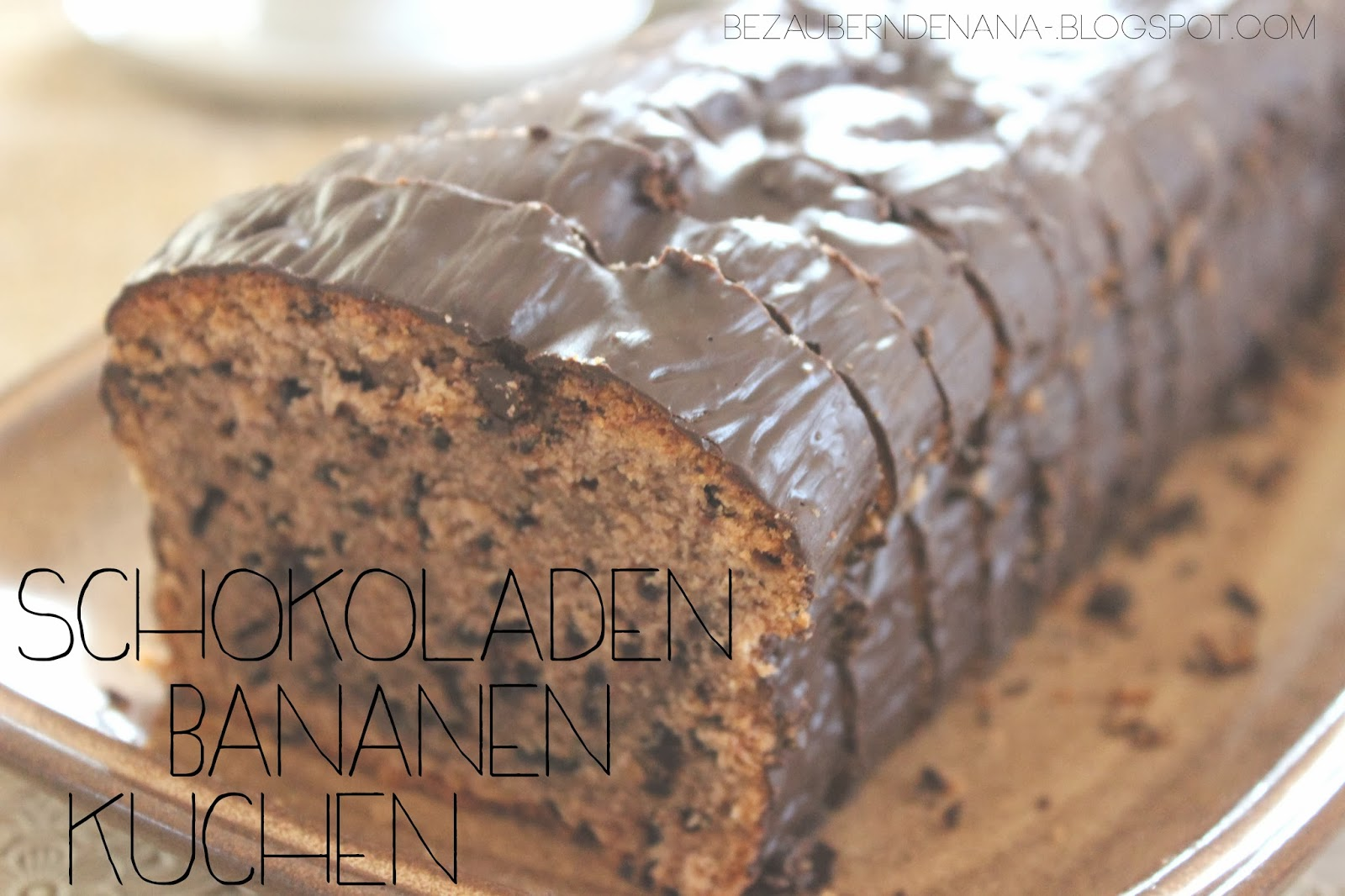 Schokoladen - Bananen Kuchen