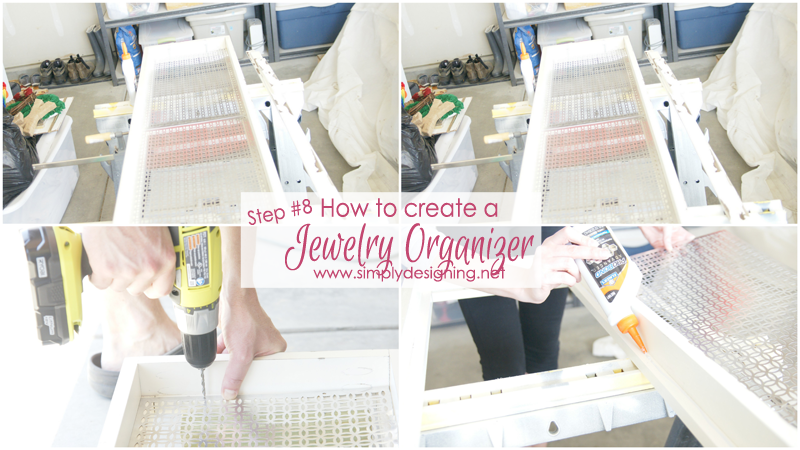 How to Create a Jewelry Organization   this is sooooooo cool!!    #diy #jewelry #organization #homeimprovement #homedecor #spon