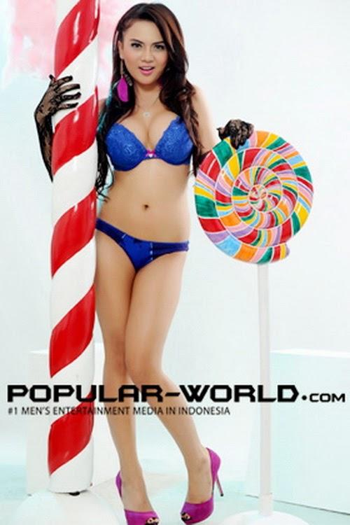 Anggita Sari On Popular Magazine Bfn July